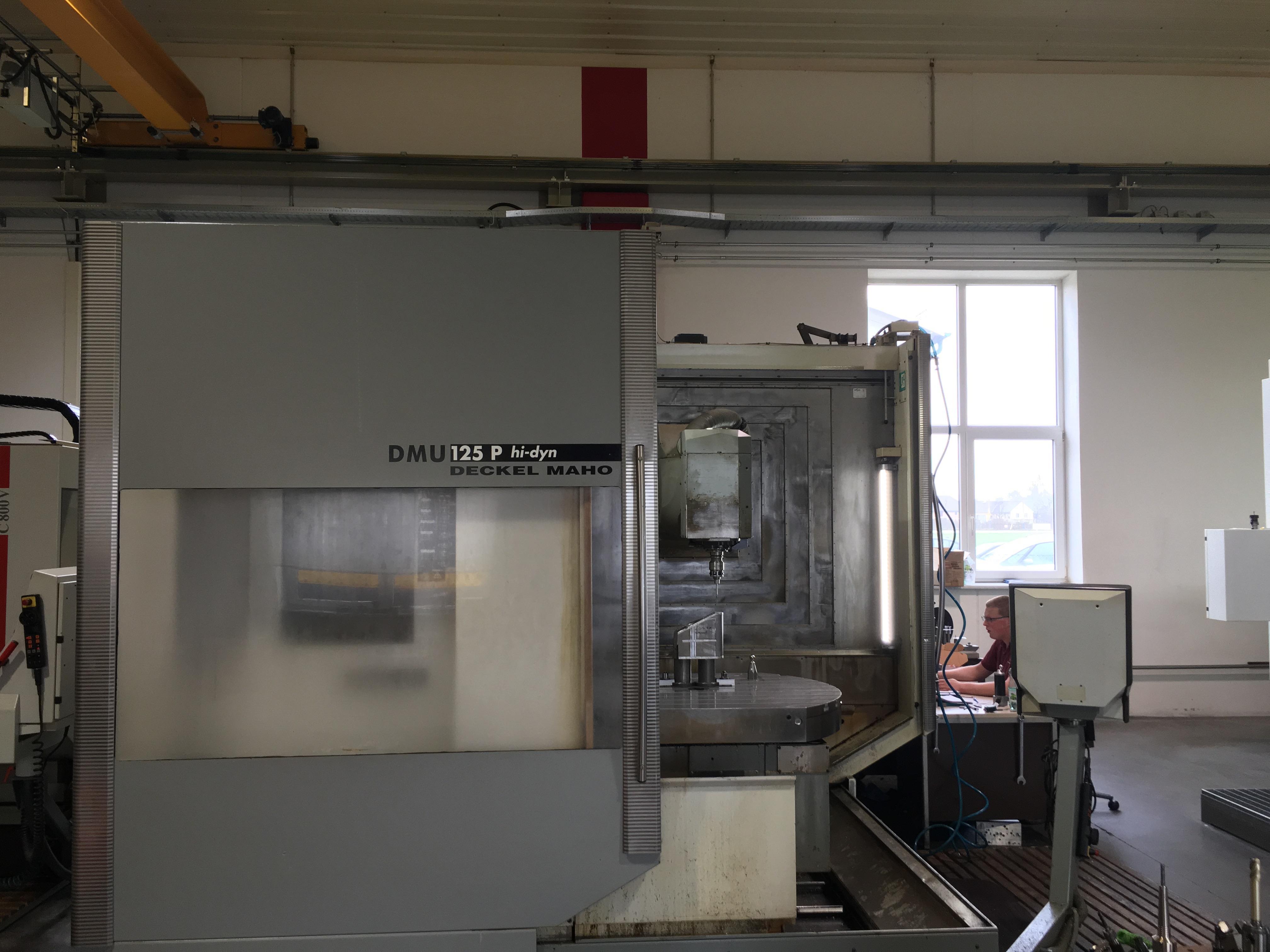 DMU 125P 5 Achsen