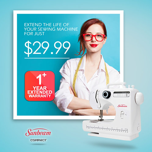 1 Year Extended Warranty for SB1818 Sewing Machine