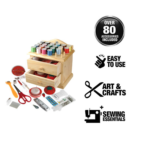 Sewing Wooden Chest