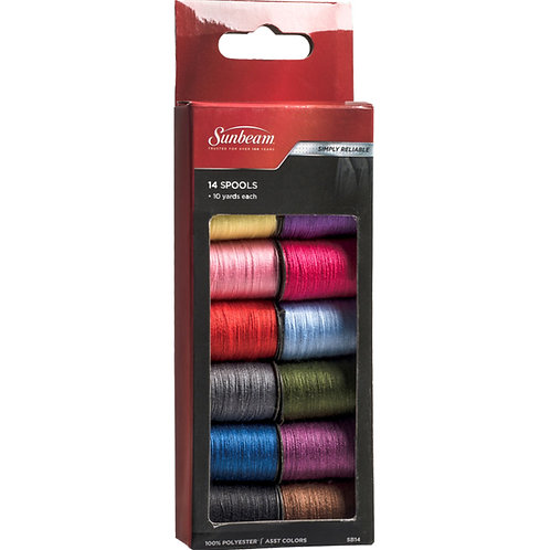 14 Thread Spools