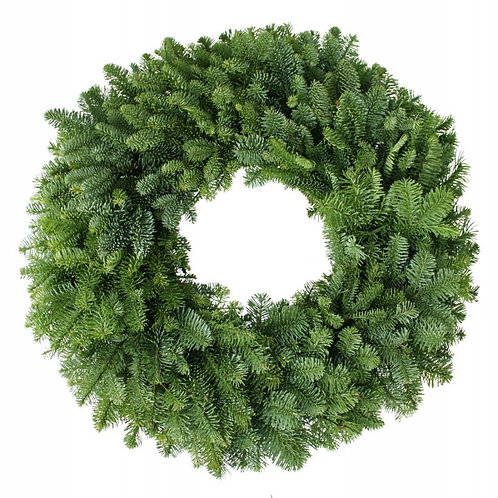 "22"" Holiday Wreath with opt. bow"