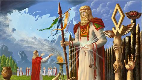 В святилище Бога Прове.