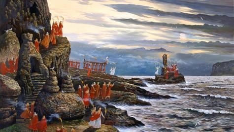 День морской Богини Ран.