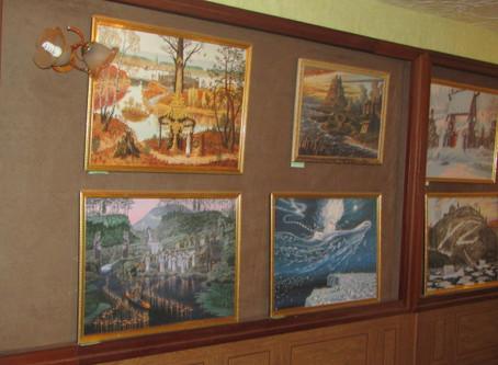 Выставке Всеволода Иванова в Селижаровском краеведческом музее.
