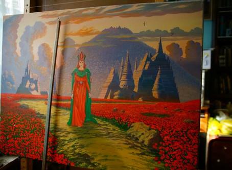 Картины художника и принт копии в хорошем качестве, любого размера и с подписью автора.