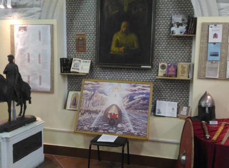 """Фото картины """"Державный князь"""" с выставки в библиотеке им.Герцена, Тверь."""