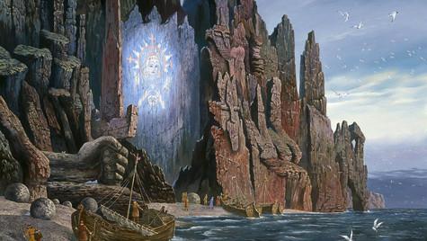 Видение поморам Богини Арктиды.