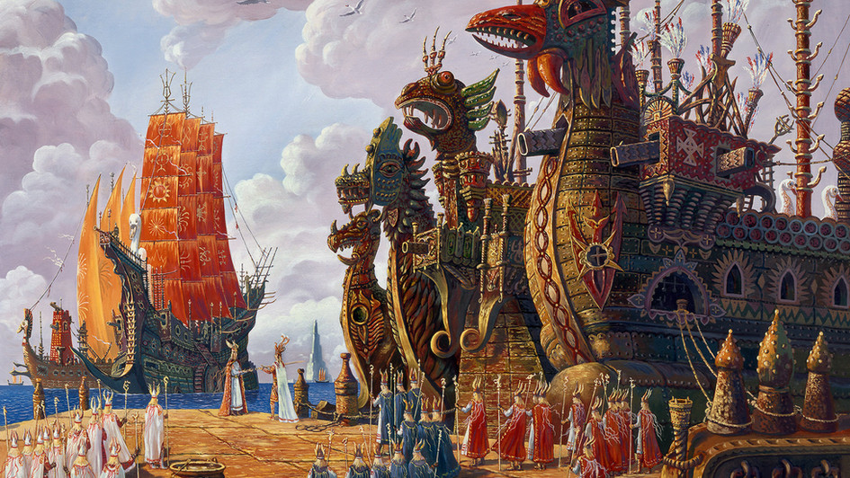 Флот Гипербореи выполнит приказ.