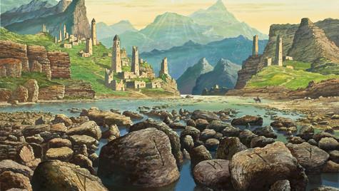 Взгляд гор. Рунные камни.