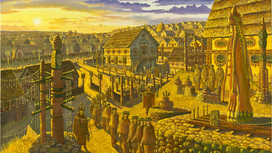 Праздник Богини Триполья.