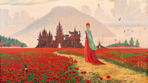 Богиня Макошь.В полях Орианы.