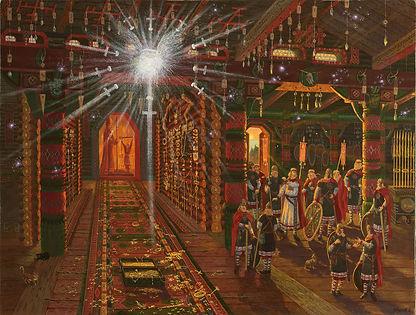 145В храме воинов в городе Ретре.Призрак