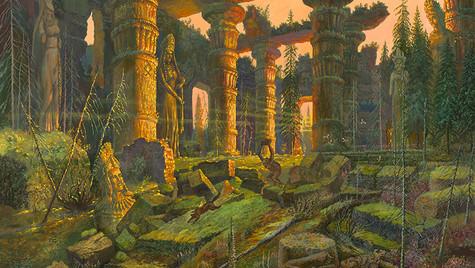 Владения хозяйки Самарской Лукижэ.