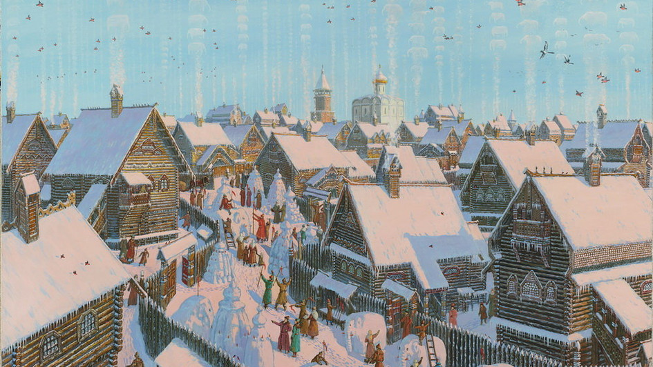 Зимний праздник.