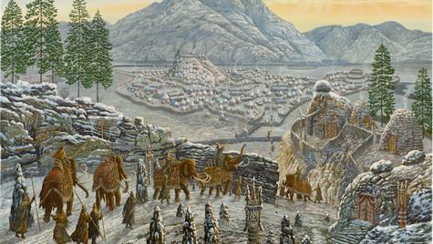 Город мамонтов.