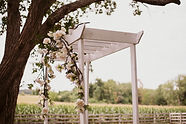 Kerry-Dan-Staples-Wedding_322 arbor with