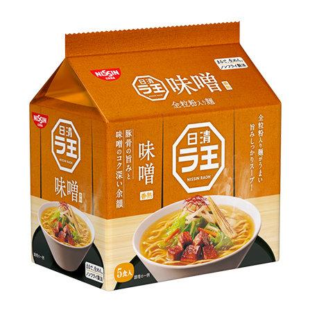 日清袋麵 味噌味 (5pcs)