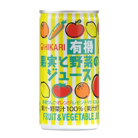 有機水果野菜汁 190g