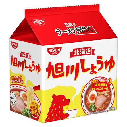 日清 拉麺屋 旭川 醤油味