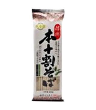 信州100%蕎麦 Shinshu 100% SOBA 200g