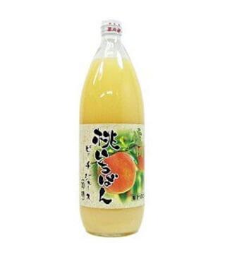信州一番桃汁 Shinshu Ichiban Peach Juice 1000ml
