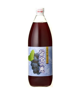 信州産巨峰果汁紫宝之恵 Kyoho Grape Juice Shiho no Megumi 1000ml