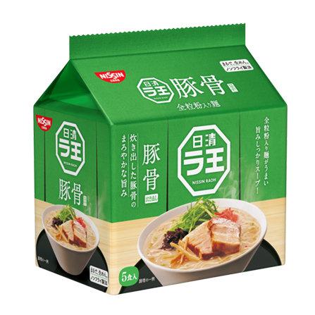 日清袋麺  豚骨味 (5pcs)
