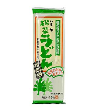 日本国産海藻烏冬 Japan Seaweed Udon 270g