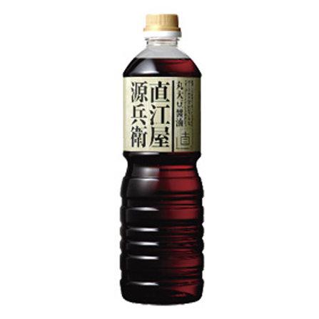 丸大豆醤油・直江屋源兵衛1000ml