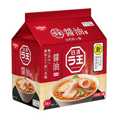 日清袋麺  醬油味 (5pcs)