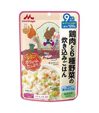 鶏肉和6種蔬菜飯 Chicken Six Vegetables Takikomigohan 120g