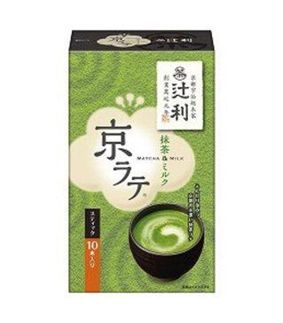 京都宇治辻利抹茶牛奶 Kyoto Uji Tsujiri Maccha Milk 10pcs 140g