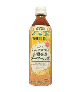 谷田食堂有機金花普洱茶 Tanita Organic Pu'er tea 500ml