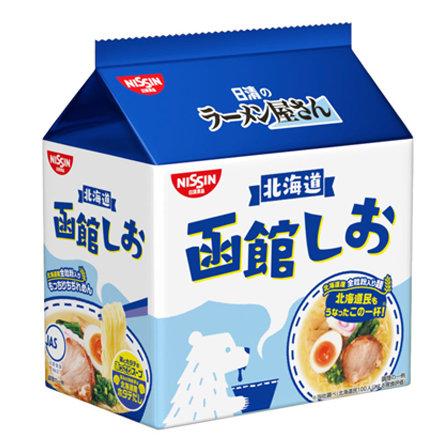 日清 拉麺屋 函館 鹽味