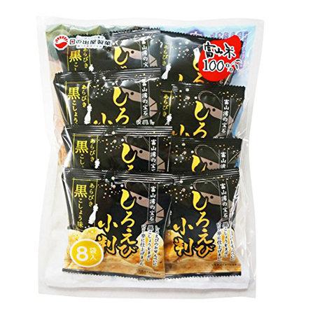 白蝦米餅 黑椒味13g*8袋