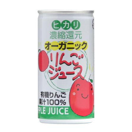 有機蘋果汁 190g