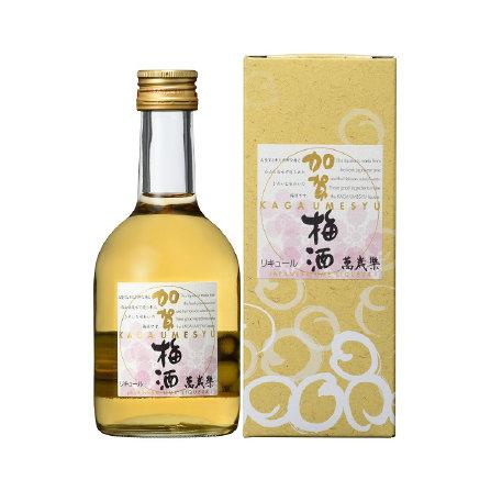 萬歳楽 加賀梅酒 300ml  [14度]