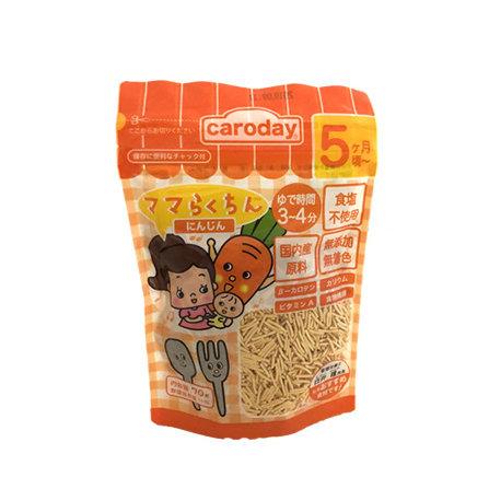 CARODAY無鹽無添加BB麵 紅蘿蔔 70g