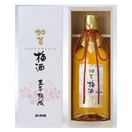 萬歳楽 加賀梅酒 五年熟成 720ml  [15度]