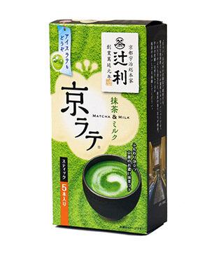 京都宇治辻利抹茶牛奶 Kyoto Uji Tsujiri Maccha Milk 5pcs 70g