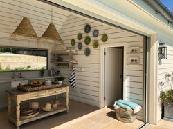 Kitchen Area in Poolhouse