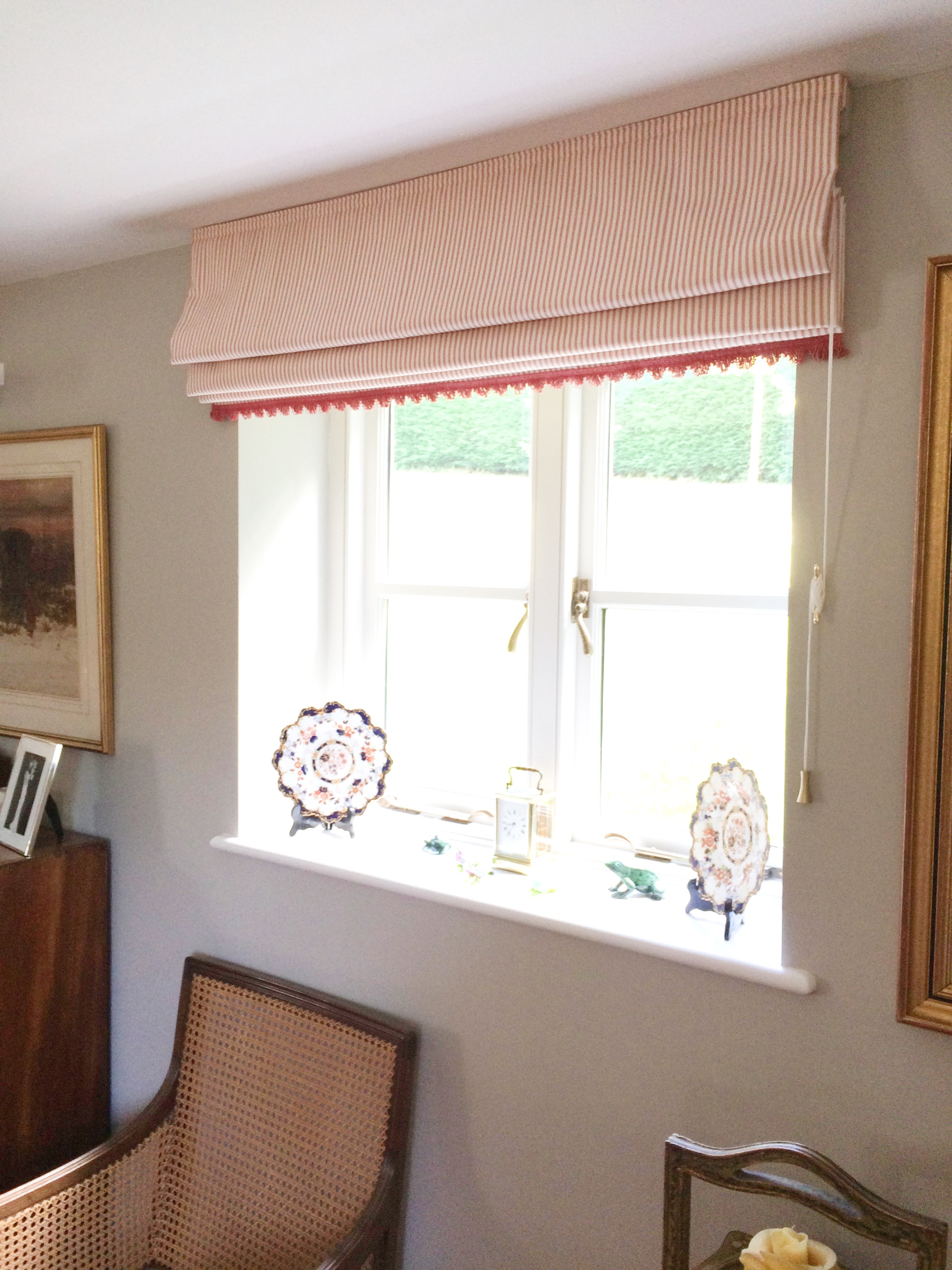 Drawing Room Blinds & Furniture