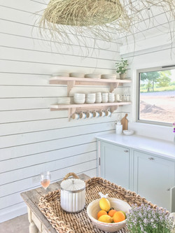 Kitchen Area Inside Pool House