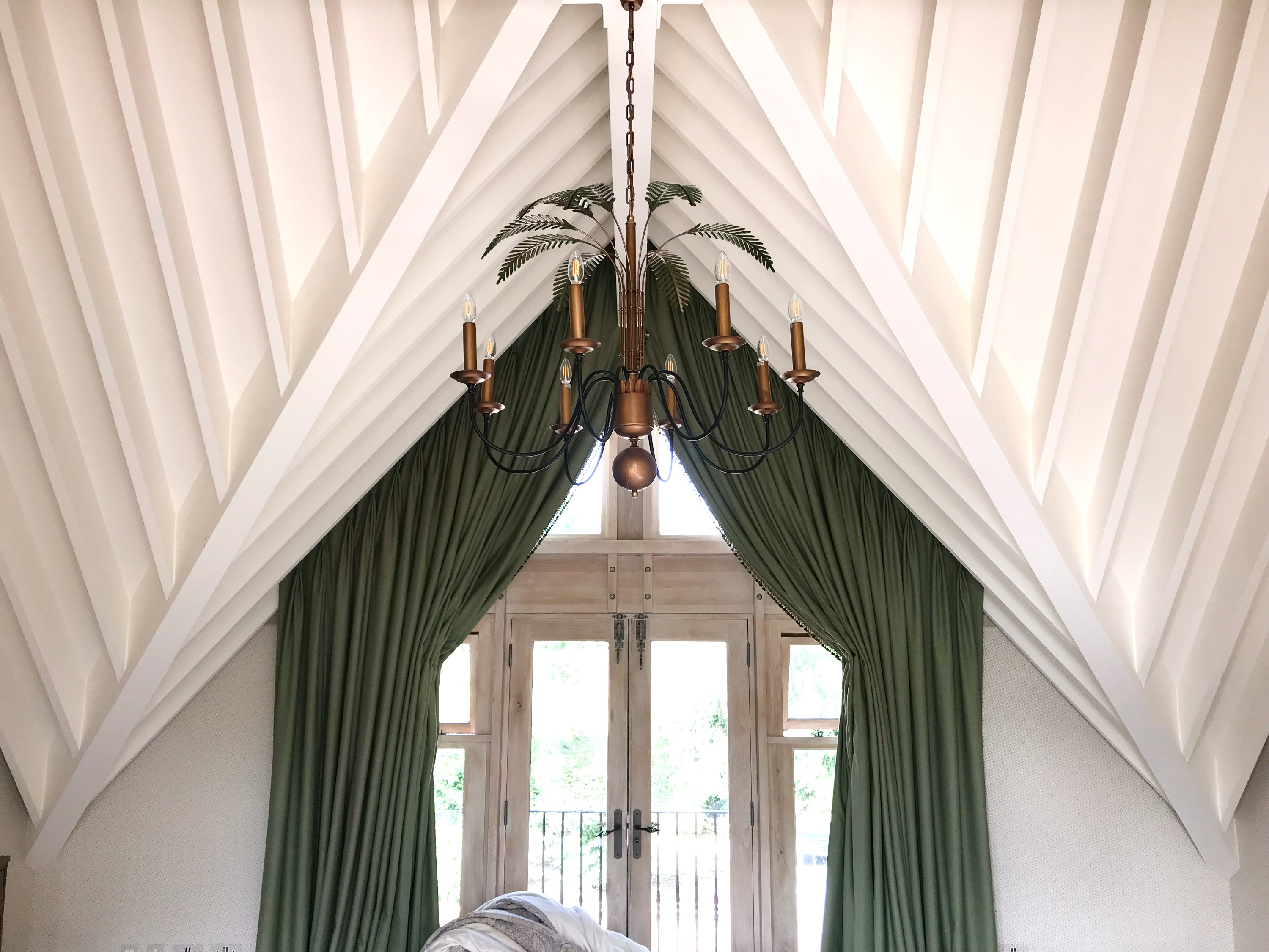 Guest Bedroom Vaulted Ceiling