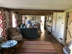 Cosy country sitting room
