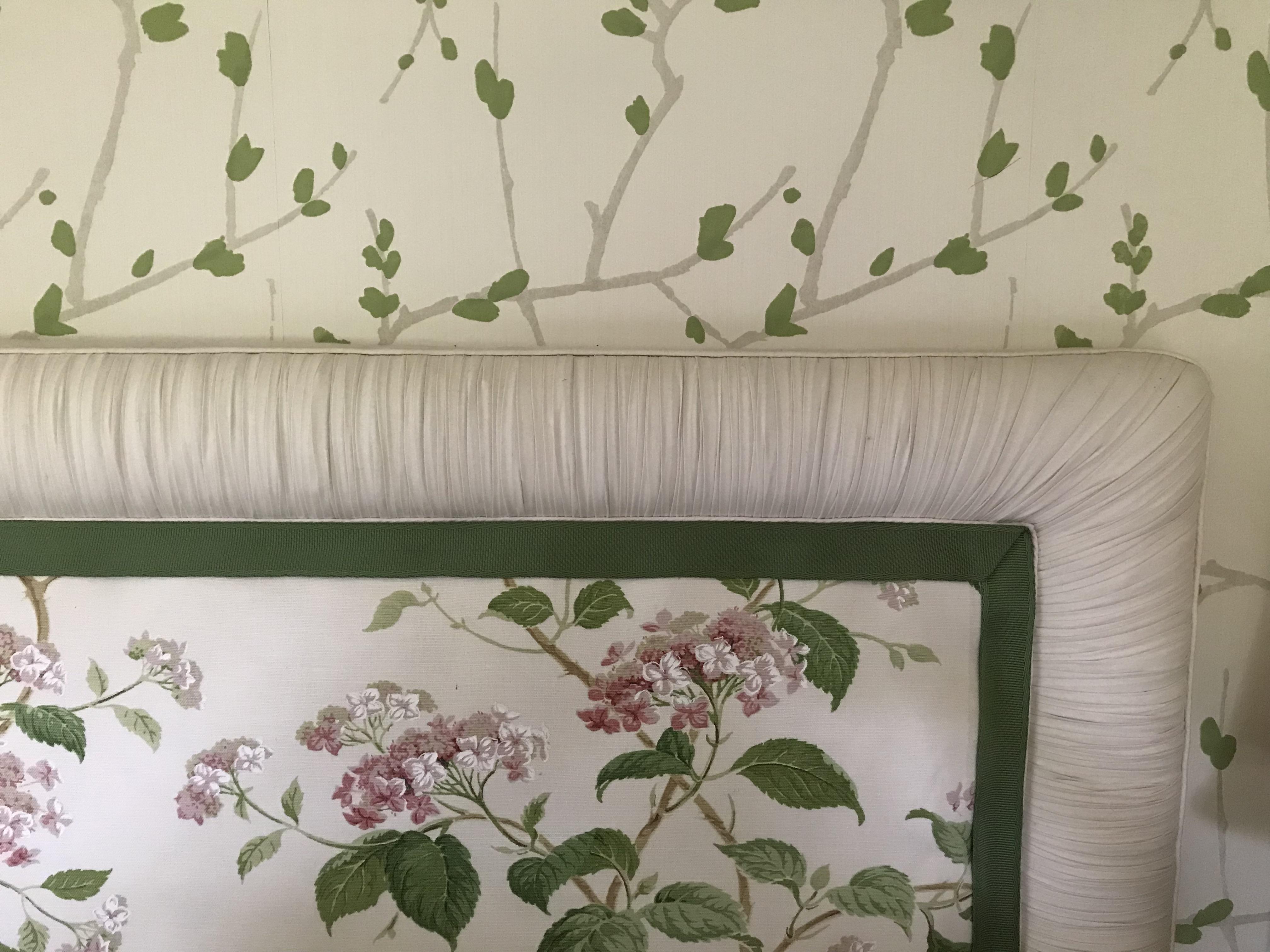 Master Bedroom Headboard Re-upholster