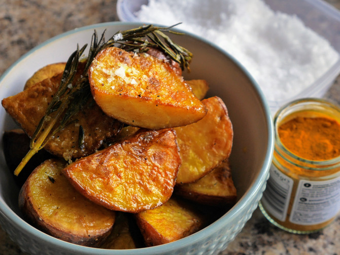 Turmeric Potatoes