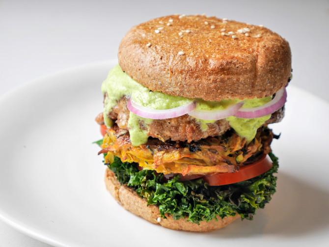 The Great Greek Lamb Burger