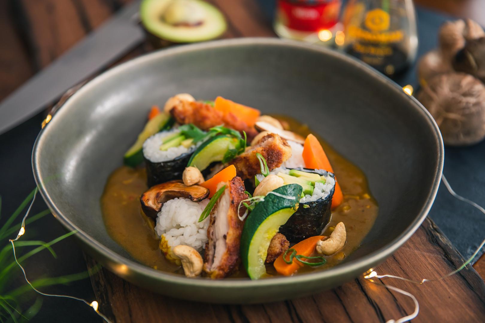 Light Chicken Katsu Curry