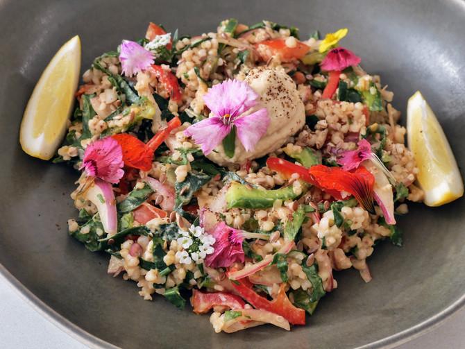 Mixed Grain and Tahini Salad